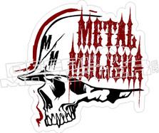 Metal Mulisha 15 Decal Sticker