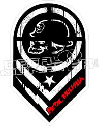 Metal Mulisha 16 Decal Sticker