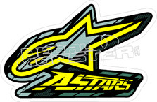 Alpine Star 11 Decal Sticker