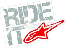 Alpine Star 12 Ride It Decal Sticker