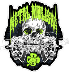 Metal Mulisha 23 Decal Sticker