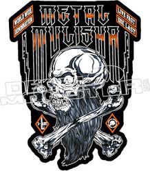 Metal Mulisha 25 Decal Sticker