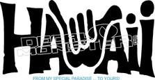 Hawaii 51 Decal Sticker