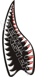Shark Whale Mouth Decal Sticker