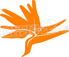 Bird of Paradise Decal Sticker