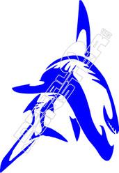 Shark 51 Decal Sticker