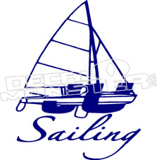 Sailing 51 Decal Sticker