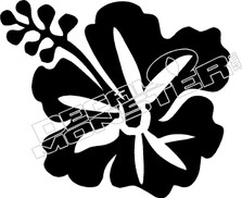 Hibiscus 55 Decal Sticker