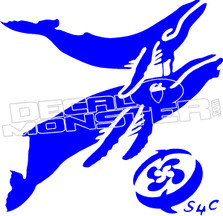 Whales 51 Decal Sticker