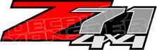 Z71 4x4 51 Decal Sticker