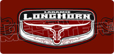 Laramie Longhorn Decal Sticker