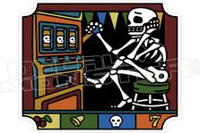 Desert Casino Decal Sticker