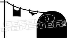 Mouse House Decal Sticker