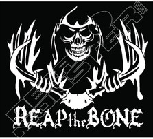 Reaper Reap The Bone Decal Sticker