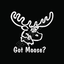 Got Moose Decal Sticker