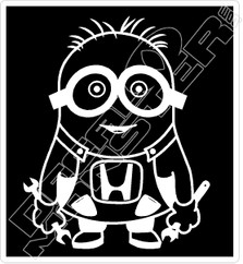 JDM Minion Mechanic Decal Sticker