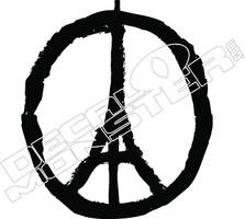 Paris Peace Decal Sticker