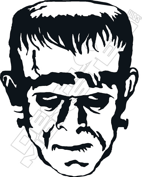 Free Frankenstein Clipart Black And White, Download Free Clip Art, Free Clip  Art on Clipart Library