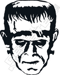 Frankenstein Decal Sticker