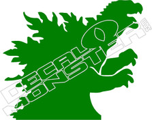 Godzilla Decal Sticker