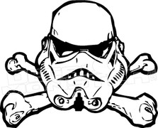 Storm Trooper 51 Decal Sticker