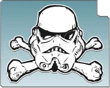 Storm Trooper 52 Decal Sticker