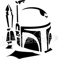 Boba Fett Decal Sticker