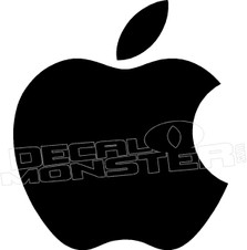 Apple Regular Silhouette Decal Sticker