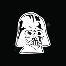 Darth Vader Decal Sticker