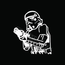 Stormtrooper 57 Decal Sticker