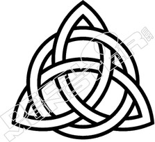 Celtic Trinity Knot Decal Sticker