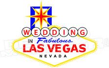 Las Vegas Wedding Decal Sticker