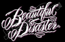 Beautiful Disaster Decal Sticker