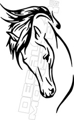 Horse 55 Decal Sticker