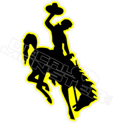 Rodeo Bronco Decal Sticker