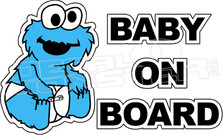 Cookie Monster Baby On Board
