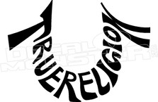 True Relgion Lettering U