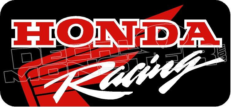 Honda Motorbike Racing 61 Decalmonster Com