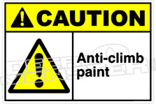 Caution 004H - Anti-climb paint