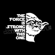 Yoda The Force is Strong 61