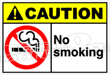 Caution 197H - no smoking