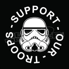 Support our troops stormtrooper 5