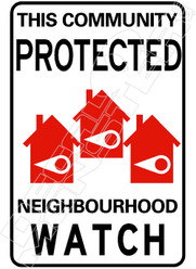 Community Protected by Neighborhood Watch