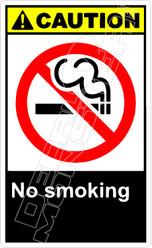 Caution 202V - no smoking