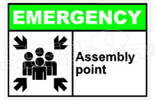 Emergency 001H - assembly point