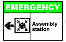 Emergency 002H - assembly station left