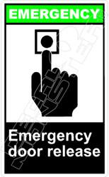 Emergency 008V - emergency door release