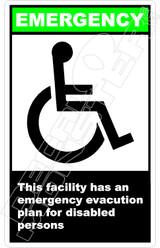 Emergency 051V - this facility has an emergency evacuation plan