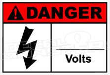 Danger 012H - ____ volts