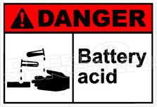 Danger 028H - battery acid